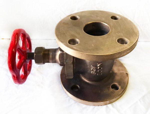 Econ klepafsluiter brons DN50