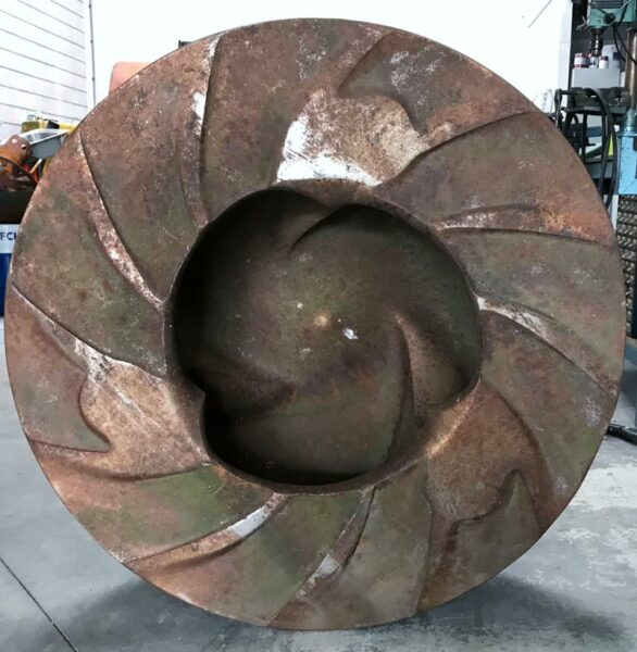 Warman impeller 16137