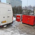 Malfunction in a diesel generator set